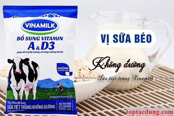Uống sữa tươi không đường có tác dụng gì? có tốt không?