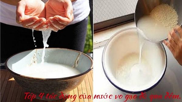 Top 4 tác dụng của nước vo gạo để qua đêm: Không ngờ đến
