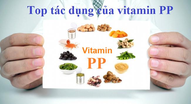 Top 5 tác dụng của vitamin pp