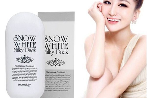 Kem snow white milky pack có bắt nắng không?
