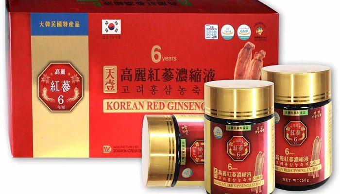 Top 7 tác dụng của Cao hồng sâm Hàn Quốc