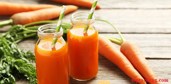 Uống nước ép cà rốt có tác dụng gì? Uống nhiều có tốt không?