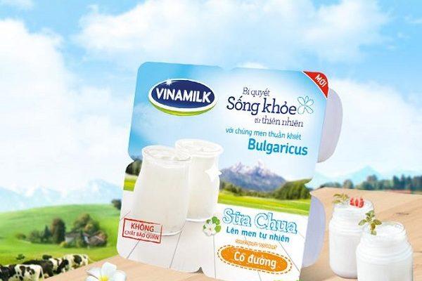 Ăn sữa chua vinamilk có đường có béo không? Có tăng cân không?