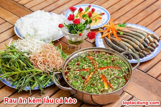 Duy nhất 7 loại rau này ăn kèm với lẩu cá kèo là ngon nhất