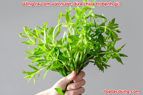 uong-rau-om-voi-nuoc-dua-chua-tri-benh-gi
