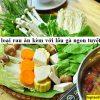4 loại rau ăn kèm với lẩu gà ngon tuyệt vời như ở nhà hàng