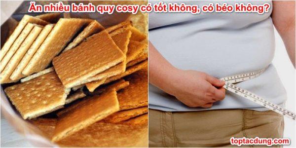 Bánh Quy Cosy Bao Nhiêu Calo, Ăn Nhiều Có Tốt Không, Mập Không?