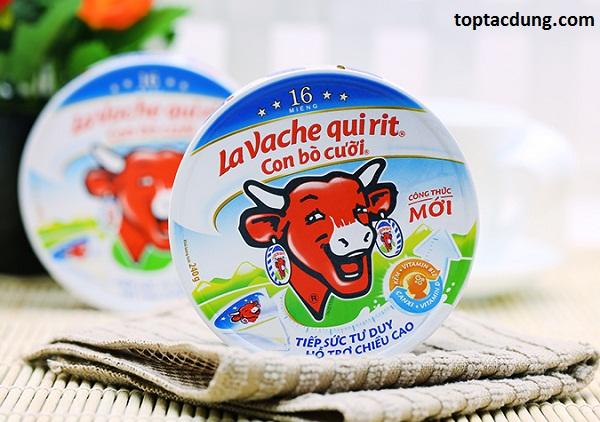 Ăn phô mai con bò cười mỗi ngày có cao không, có tác dụng gì?