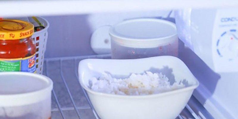 Cơm nguội để trong tủ lạnh được bao lâu ?
